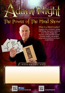 The power of the mind show Poster